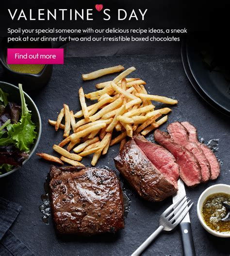 valentines day food delivery waitrose grocery shopping free delivery