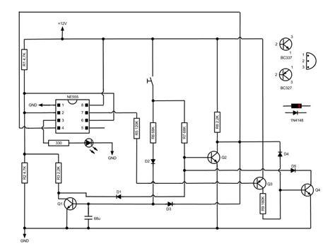 latching switch wiring diagram circuit and schematics