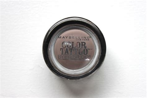 maybelline color tattoo cream eyeshadow review within the makeup maybelline color tattoo cream eyeshadow