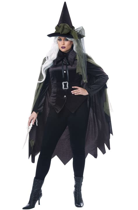 gothic witch  size costume purecostumescom