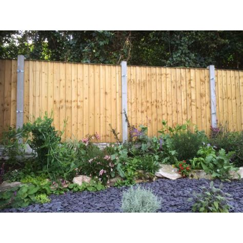 Cottage Fencing Panels by Feather Edge Fence Panel Frodsham Gates And Fencing Direct