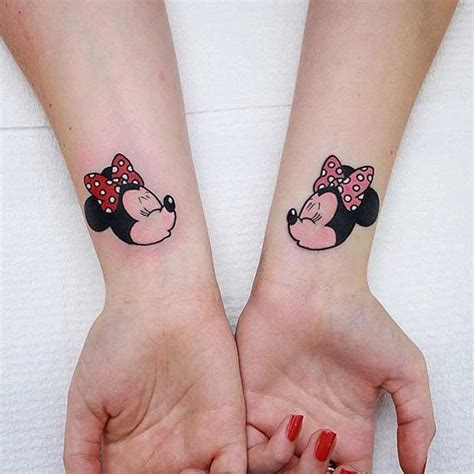 sister tattoos on wrist 25 best ideas about matching disney tattoos on