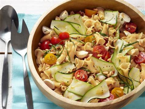 olive garden zucchini garden pasta with bocconcini recipe food network kitchen food network