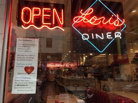 darkest hour union square lori s diner in sf closing original location san