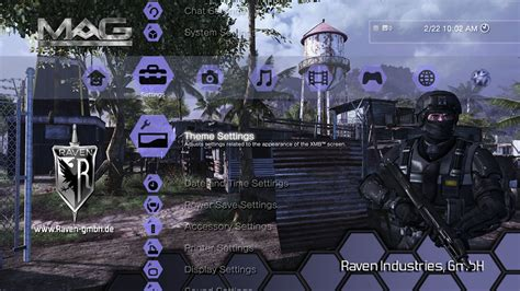 ps3 themes in store mag raven dynamic theme on ps3 official playstation