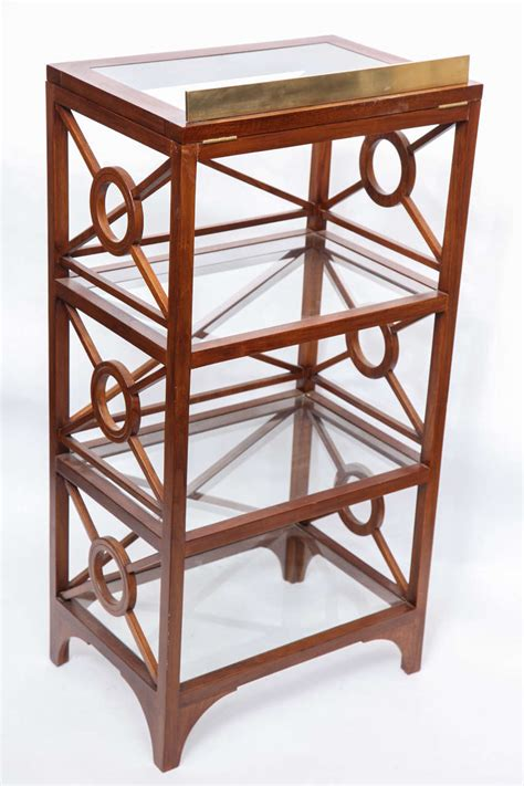 etagere novel 1940 s moderne etagere with adjustable book rest at