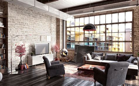 Cabin Design Ideas by How To Create A Modern Interior In Loft Style