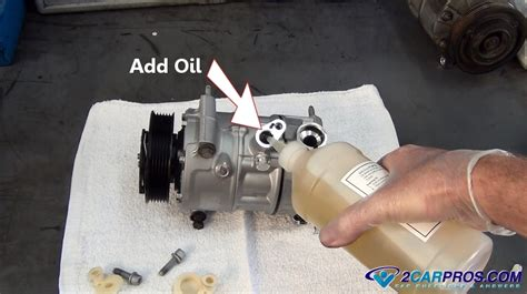 diy auto a c fix replacing o rings on subaru outback car and air how to replace an air conditioner compressor in under 2 hours