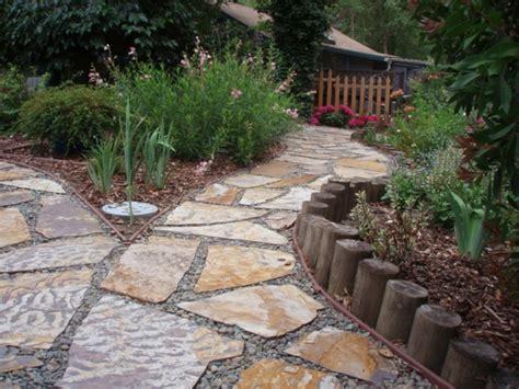 garten natursteine natursteine und garten gestalten schicke gartenwege aus