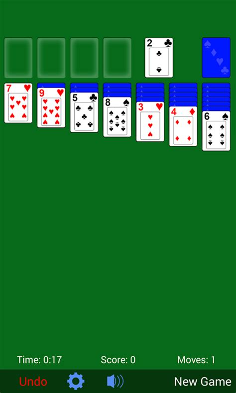 solitaire for android free solitaire card apk for android getjar