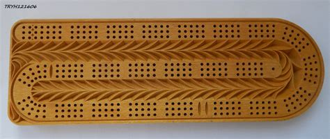 cribbage board drilling templates cribbage board 3 track continuous design is made by