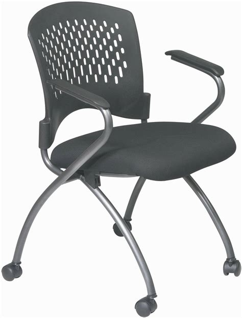 deluxe folding chair with progrid back and arms free