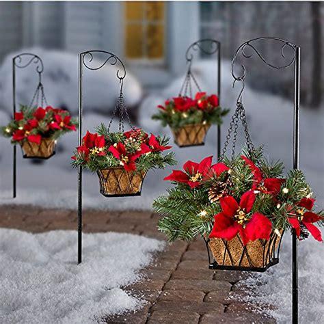 hanging baskets led lights beautiful hanging baskets with led lights