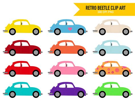 volkswagen bug clip vw beetle clipart clipground