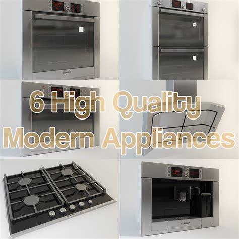 kitchen appliance set 3ds max bosch kitchen appliance set