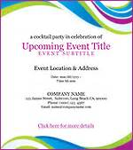 Event Invitations Templates by Email Invitations Benchmark Email