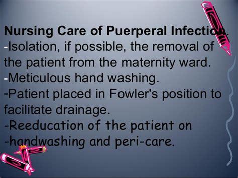 complication of puerperium