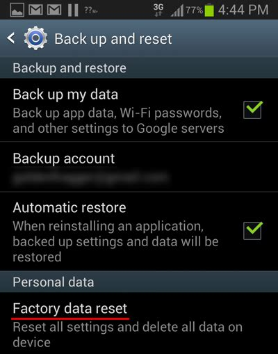 reset android to factory settings without password 7 tips to speed up your android phone