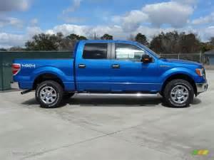 Blue Ford Truck Blue Metallic 2011 Ford F150 Xlt Supercrew 4x4