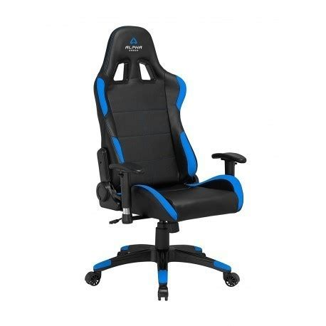 alpha gamer vega black/blue gaming chairs photopoint
