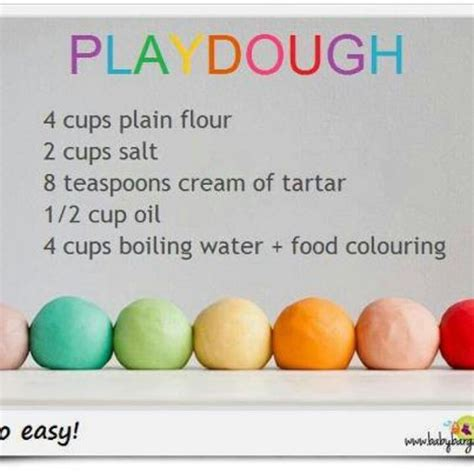 the home made play dough recipe autos post