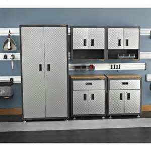 garage storage cabinet set 7 pc by gladiator garageworks