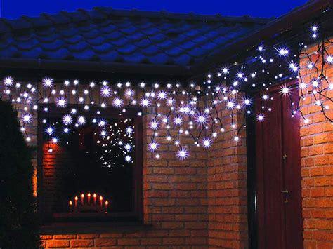 weihnachtsbeleuchtung led eiszapfen lichtervorhang f 252 r
