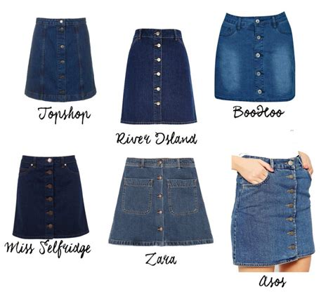 denim skirt style mindfulness fashion personal