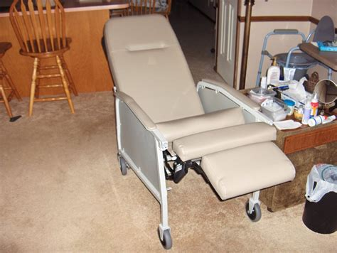how to recline hospital chair therapeutic hospital chair reclining with tray boston