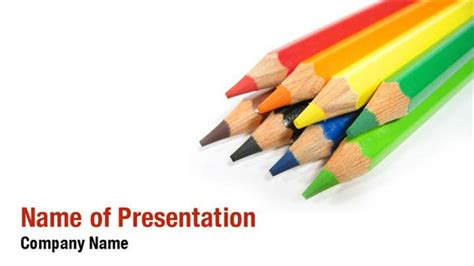 Powerpoint Template With Crayons Images Powerpoint Template And Layout Crayon Powerpoint Template For Mac