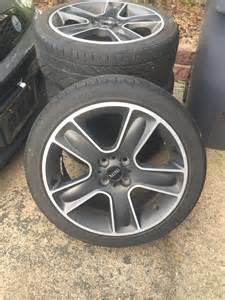Mini Cooper Wheels For Sale Fs Set Of 17 Quot Mini Black Bullet Wheels W Hankook