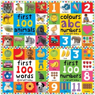 Numbers Colours Shapes Priddy Baby Best Seller bright baby 100 collection 4 books set colours abc numbers 100 numbers 100