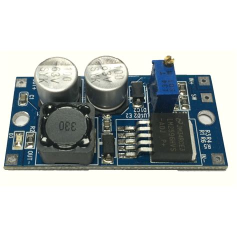 stak lm2596hvs dc dc step voltage regulator board 6v to 60v input 3v to 30v output
