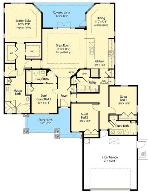 space saving design 55111br 1st floor master suite energy saving ranch home plan 33121zr 1st floor master