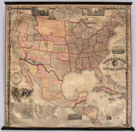 1861 map of united states washington map of the united states 1861 map usa