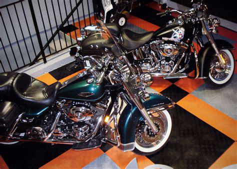 Harley Davidson Garage by Harley Davidson Garage Flooring