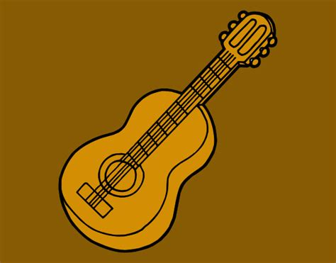 classical music coloring pages colored page classical guitar painted by mandala