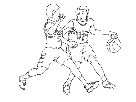 Coloriage 224 Imprimer Sports Basketball Num 233 Ro 487891