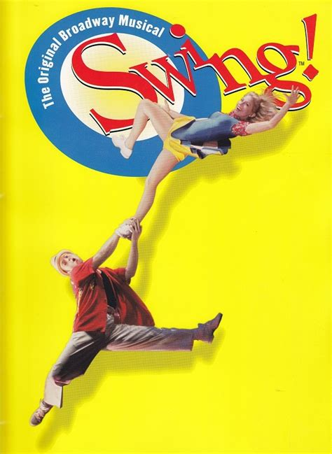 swing broadway pin by heather nelson on musicals i ve seen pinterest