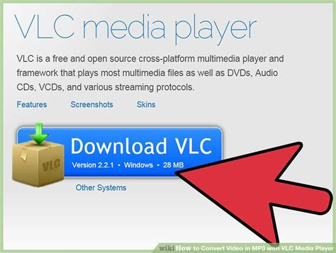 convert video to mp3 using vlc media player youtube how to convert video in mp3 with vlc media player 11 steps
