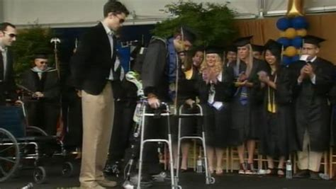 Do Mba Students Walk At Graduation by Exoskeleton Enables Paraplegic Student To Walk At