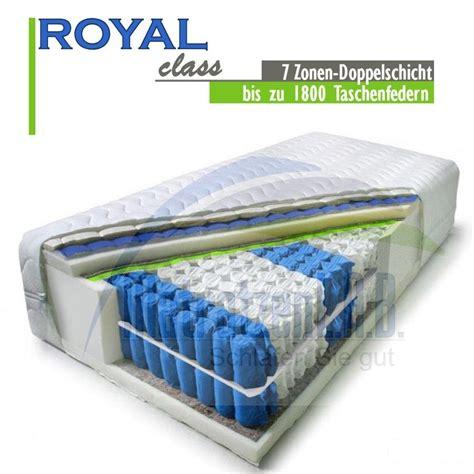 matratzen höhe boxspring matratze royal bestseller shop f 252 r m 246 bel und