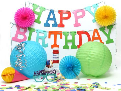1st Birthday Decoration Ideas At Home by Birthday Banner And Decoration Set Parcel University