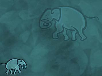 Elephant 06 Powerpoint Templates Elephant Powerpoint Template