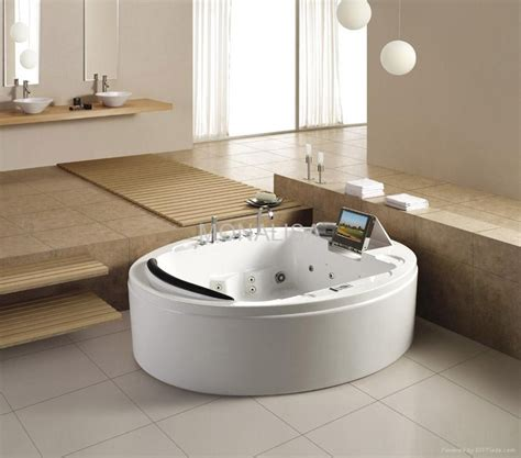 bathtub with tv luxury massage bathtub with tv dvd ice box bathroom hot tub m 2047 monalisa