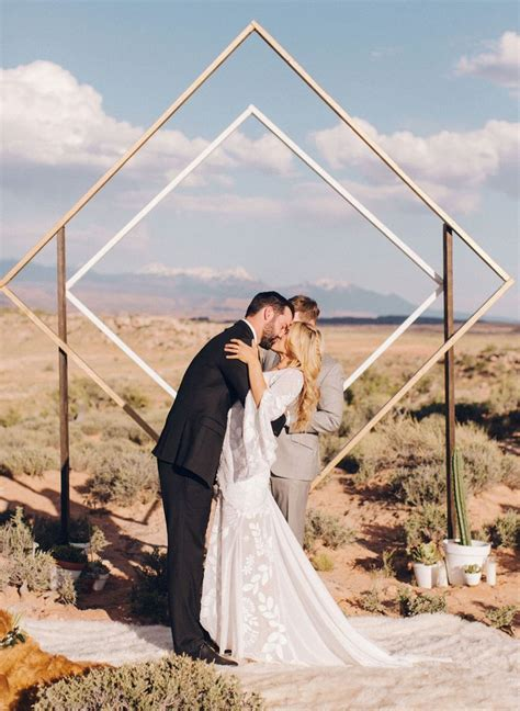 25  best ideas about Ceremony backdrop on Pinterest