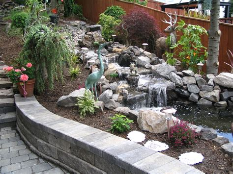 a backyard idea set in severn md premier ponds dc md 20 rock garden ideas that will put your backyard on the