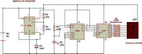 build circuit up counter build circuit