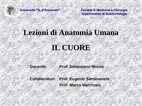 dispense anatomia umana apparato cardiovascolare il cuore dispense