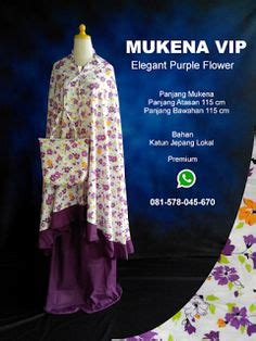 Mukena Sulam Katun E 2 Windyshopscom mukena giggles katun jepang mgk04003 mukena rangrang